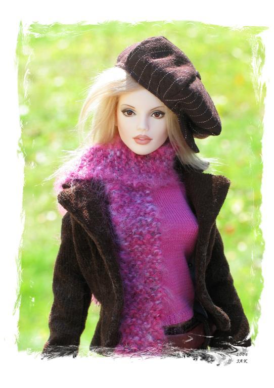 Pink Turtleneck Sweater